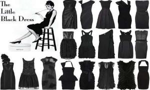 Маленькое черное платье - абсолютный стиль!