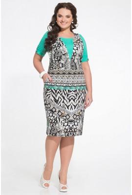 Платье, этнический принт