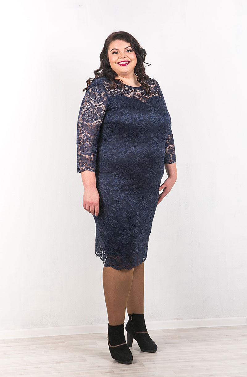 Вечернее платье из нежного кружева