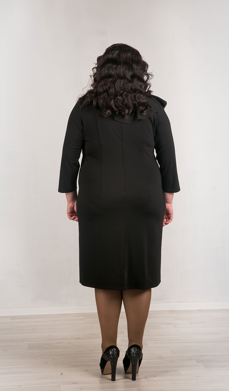 Нарядное платье для полных дам